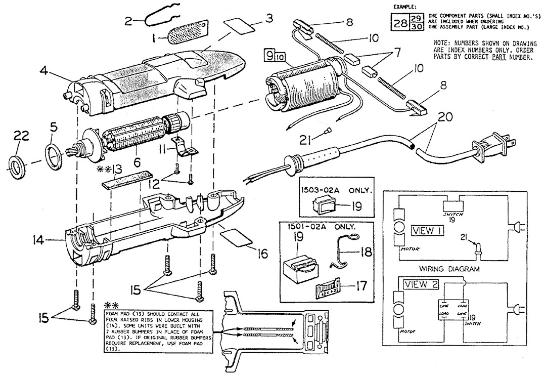 oster 72157 motor ivory's table of content page oster a5 wiring diagram at bayanpartner.co